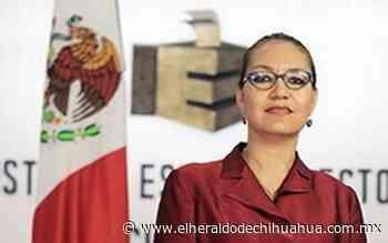 Nuevamente es Arlette Espino la presidente provisional del IEE - El Heraldo de Chihuahua