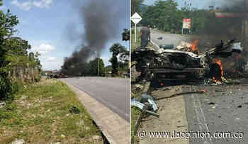 Explotó carrobomba en Cubará, zona limítrofe con Toledo - La Opinión Cúcuta