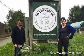 """Boerderij zweert bij de korte keten: """"De band tussen mens en voedsel herstellen"""" - Het Nieuwsblad"""