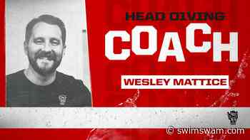 NC State Announces GWU's Wesley Mattice as New Head Diving Coach - SwimSwam