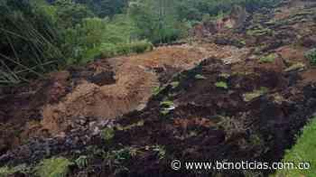 Continúa monitoreo a deslizamiento en la salida de Villamaría - BC NOTICIAS - bcnoticias.com.co