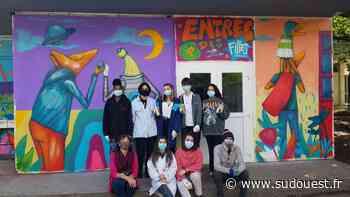 Gironde : le collège Victor-Louis de Talence accueille l'artiste Selor - Sud Ouest