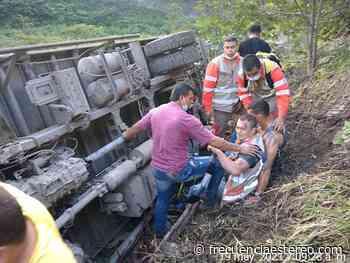 En Dabeiba, varias personas heridas, tras accidente en la vía - Ultimas Noticias Frecuencia Estéreo