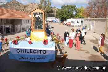 Santa Rita culmina su recorrido por la ciudad y distritos - Nueva Rioja