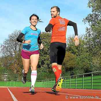 Auf dem Sportplatz geht's zur Sache: Jenny Wehmschulte drückt aufs Tempo - Gescher - Allgemeine Zeitung