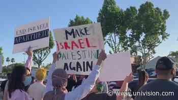 Simpatizantes han salido a las calles de Fresno para apoyar al pueblo palestino - Univision