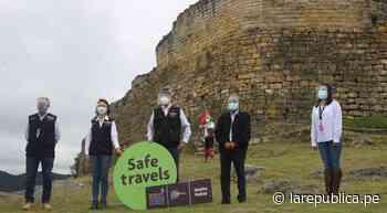 Entregan Sello Safe Travels a destinos Kuélap, Gocta y Chachapoyas-Huancas - LaRepública.pe