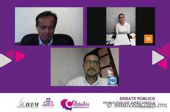 Candidatos a la presidencia municipal debaten en Amecameca - Noticiario Así Sucede