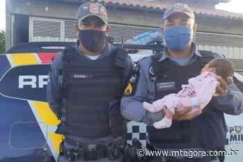 Policiais salvam bebê de nove dias engasgada em Pontal do Araguaia - MT Agora