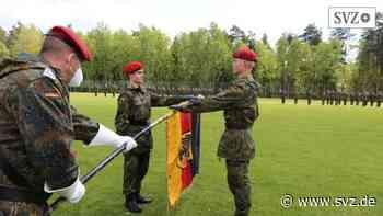 Gelöbnis beim Versorgungsbataillon: Hagenow bleibt Ausbildungsstandort für das Heer   svz.de - svz – Schweriner Volkszeitung