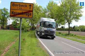 Verbindungsstraße wird grundsaniert: Bremerstraße über einen Monat gesperrt - Nordwest-Zeitung