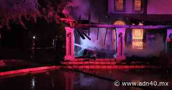 """Sujetos armados queman el balneario """"Las Palapas"""" en Caborca, Sonora - ADN 40"""