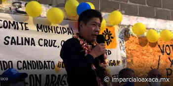 Rodolfo León ofrece fuerte lucha para combatir la inseguridad en Salina Cruz - El Imparcial de Oaxaca