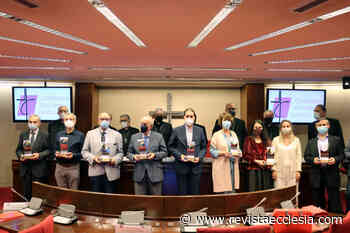 Juan Caño, presidente de la APM al recoger el Premio ¡Bravo! especial: «El periodismo es el oxígeno de ... - Ecclesia Digital
