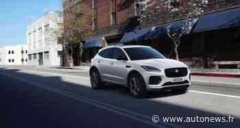 Jaguar E-Pace R-Dynamic Black Edition : une série spéciale sobre et élégante - Autonews