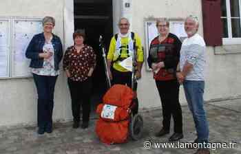 Luc Pace s'est lancé le défi de parcourir 11.022 kilomètres à pied - La Montagne