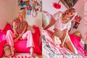 Roze kledij enkel voor kinderen? Niet als het aan ontwerpster Laure (27) ligt