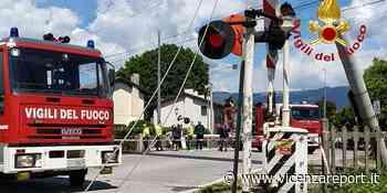 Cassola: divelti i cavi della linea ferroviaria - Vicenzareport
