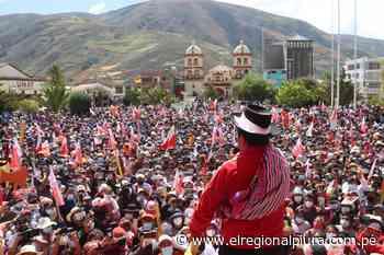 Candidato Pedro Castillo defendió sus propuestas en Pampas de Huancavelica - El Regional