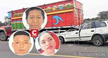 Tres personas mueren en accidente de tránsito en la vía Piura-Chulucanas - Diario Correo