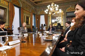 Vicepresidenta Harris se reúne con G. Porras, Aldana, Paz y Paz y Escobar - La Hora