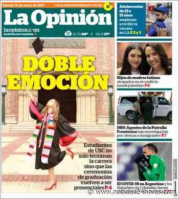 Los Ángeles 'Lloré cuando supe que nos íbamos a graduar en persona' - Noticias 24 horas