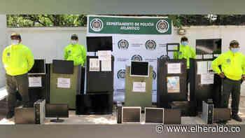 Incautan en Baranoa máquinas de juegos de azar ilegales - EL HERALDO