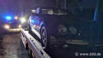 Emsdetten: 15-Jähriger kauft sich Mercedes CL 500 - BILD