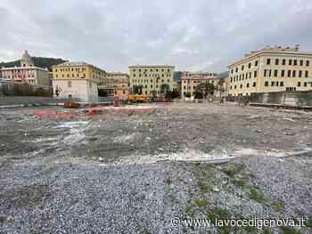 Fronte mare di Voltri: un progetto ecosostenibile al posto della Pam, ripartono i lavori alla piscina 'Mameli' - LaVoceDiGenova.it