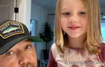See Jason Aldean and Son Memphis' Sweet Birthday Message for George Strait - Taste of Country