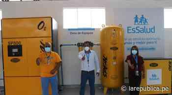 La Libertad: inauguran planta de oxígeno en la provincia de Pacasmayo - LaRepública.pe