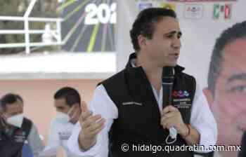 Recorre Alejandro González el distrito local de Mixquiahuala - Quadratín Hidalgo