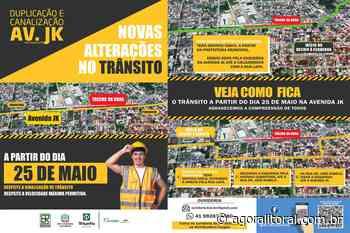 Obra de duplicação da PR-412 vai alterar trânsito em Matinhos - Agora Litoral
