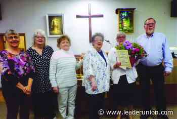 Laura Feezel anmed Mother of Year by Sefton HCE Unit at church Sunday - The Leader Union