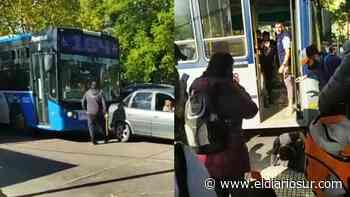 Violento atacó en la estación de Monte Grande a colectiveros - El Diario Sur