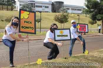 Carreata em Taquarituba reforça conscientização da campanha Faça Bonito - Jornal Sudoeste Paulista