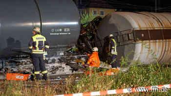 Zu hohes Tempo Ursache für Bahnunglück Lahnstein? - HIT RADIO FFH