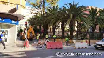 Cortes de tráfico, este jueves y viernes, en las calles Floridablanca y acceso a Álamo por Lope Gisbert para el arreglo de los pasos de peatones - La Actualidad de Águilas
