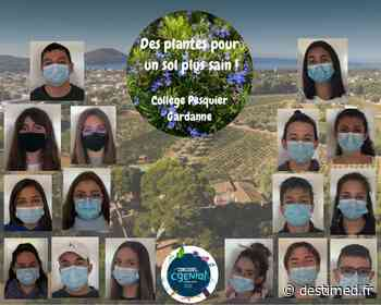 Le collège Pesquier de Gardanne (13) lauréat du 14e Concours CGénial - DESTIMED (L'info des deux rives)