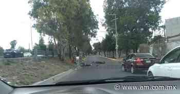 Accidente Celaya: Chocan motocicletas en Las Arboledas, 2 jóvenes quedan inconscientes - Periódico AM