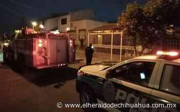 Explota vivienda en las Arboledas - El Heraldo de Chihuahua