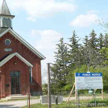 Ancaster's 'Little Red Schoolhouse' rezoned, ready to be sold to pay for arts centre - TheSpec.com