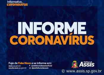 COVID-19: Prefeitura pede que moradores intensifiquem os cuidados para evitar à transmissão do Coronavírus - Prefeitura de Assis