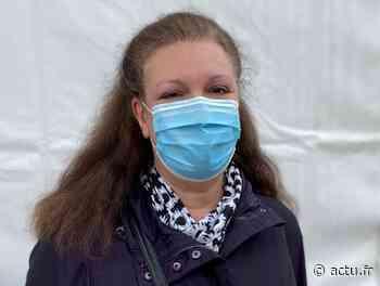 Val-d'Oise. Eaubonne : Corinne a reçu la 10 000e injection au centre de vaccination de l'hôpital - La Gazette du Val d'Oise - L'Echo Régional