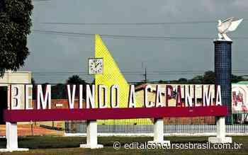 Processo Seletivo Prefeitura de Capanema PA 2021: Edital abre 43 vagas - Edital Concursos Brasil