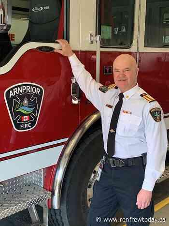 Retiring Arnprior Fire Chief grateful for the opportunity - renfrewtoday.ca