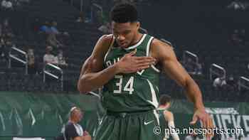 Antetokounmpo is honest: Bucks playoff results will speak for themselves