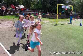 De Schans loopt voor nieuwe speelplaats, ook Sint-Jozef houdt sportdag - Het Nieuwsblad