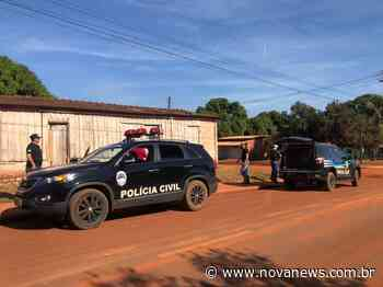 Ivinhema: Polícia Civil identifica autoria de homicídio e cumpre - Nova News