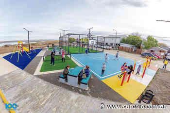 Nuevo playón deportivo en el Pasaje Luján - El Sureño